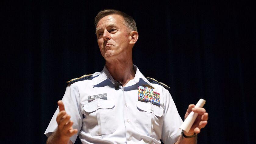 Adm. Paul Zukunft, commandant of the U.S. Coast Guard.
