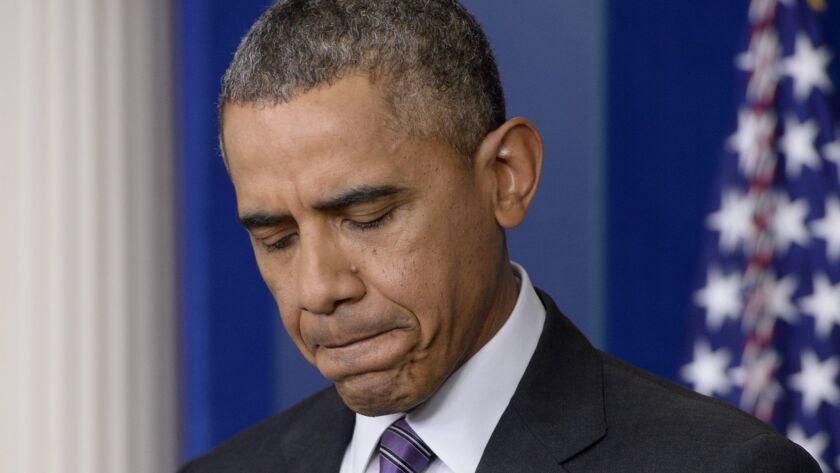 Obamacare unconstitutional, Texas judge rules, Washington, USA - 17 Apr 2014