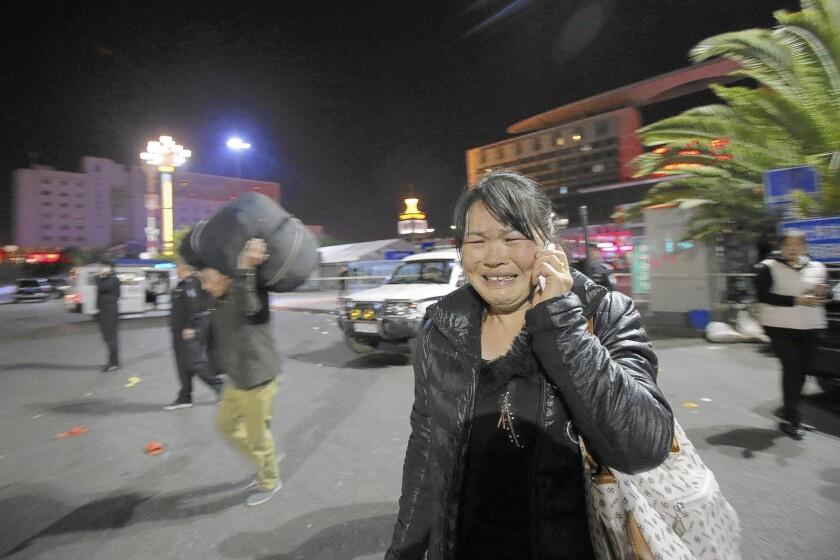 Knife attack in Kunming, China