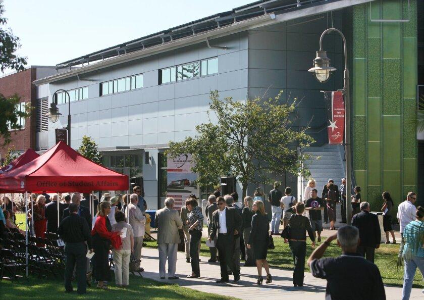San Marcos College >> San Marcos College Celebrates New Health Sciences Building