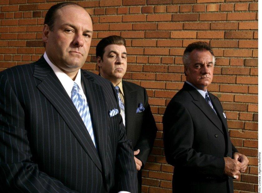 El elenco de Los Soprano.