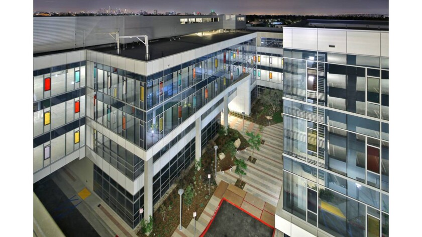 This office development by Los Angeles developer J.H. Snyder Co. is intended to be a creative office campus for the entertainment industry.