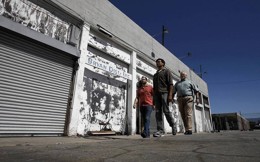 Downtown L.A. drive-in theater finds a new home