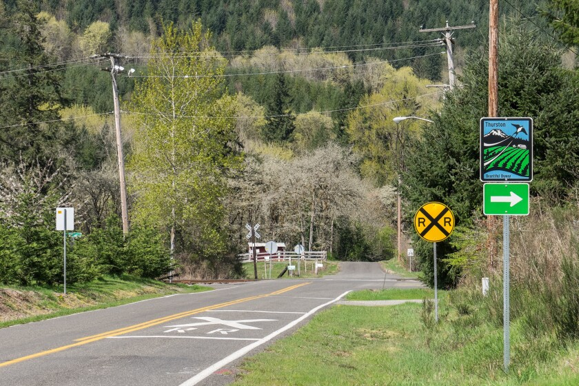 The Thurston Bountiful Byway takes travelers on the quiet countryside around state capital Olympia.