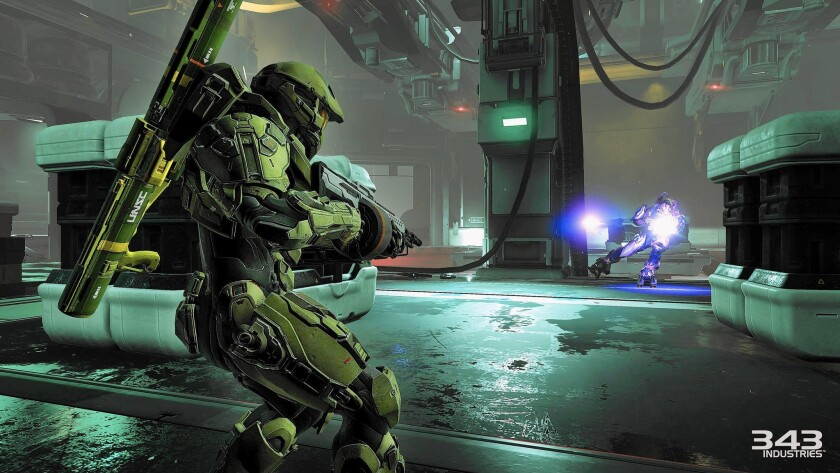 "Master Chief returns in ""Halo 5: Guardians,"" which has a little less humanity than its predecessor."