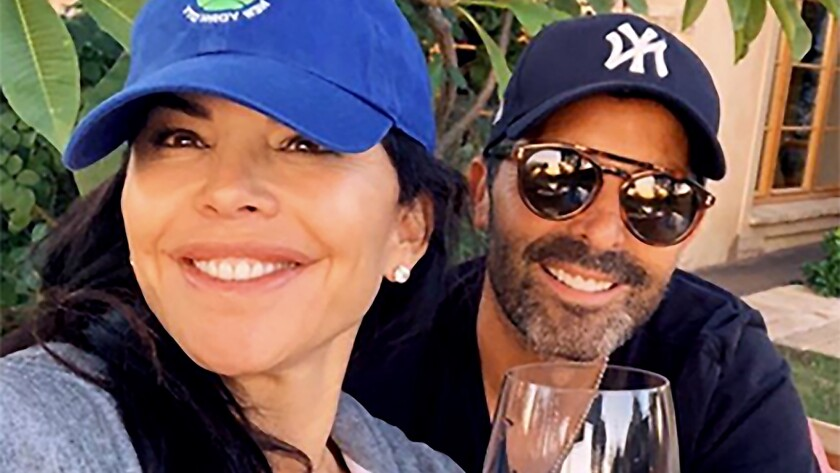Lauren Sanchez and her brother Michael in an undated photo.