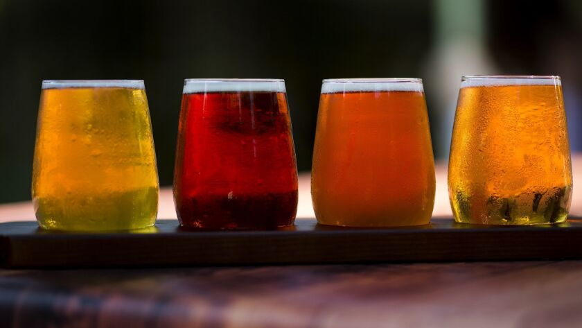 The craft beer industry is still growing, but the growth has slowed.