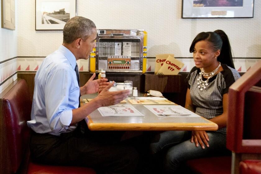 Barack Obama, Tanei Benjamin