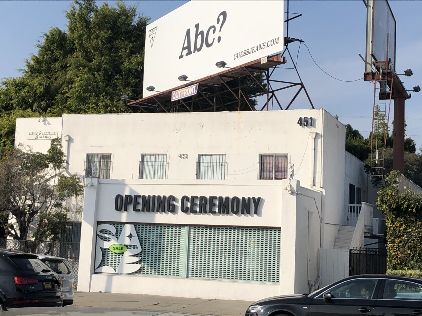The Los Angeles Opening Ceremony Store