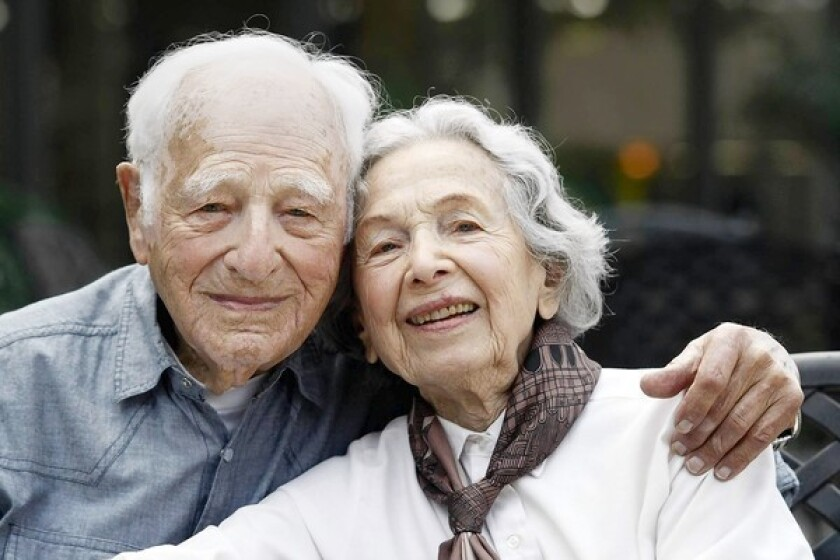 Morrie Markoff, 99, and his wife, Betty, 97, will celebrate their 75th wedding anniversary in November. Morrie turns 100 in January.