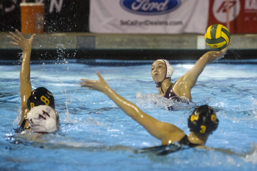 Laguna Beach girls' water polo rallies to beat Foothill for second straight CIF Division 1 title