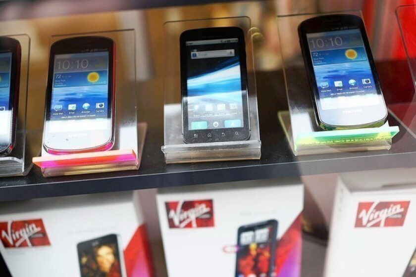 Global mobile phone sales decline for first time since 2009