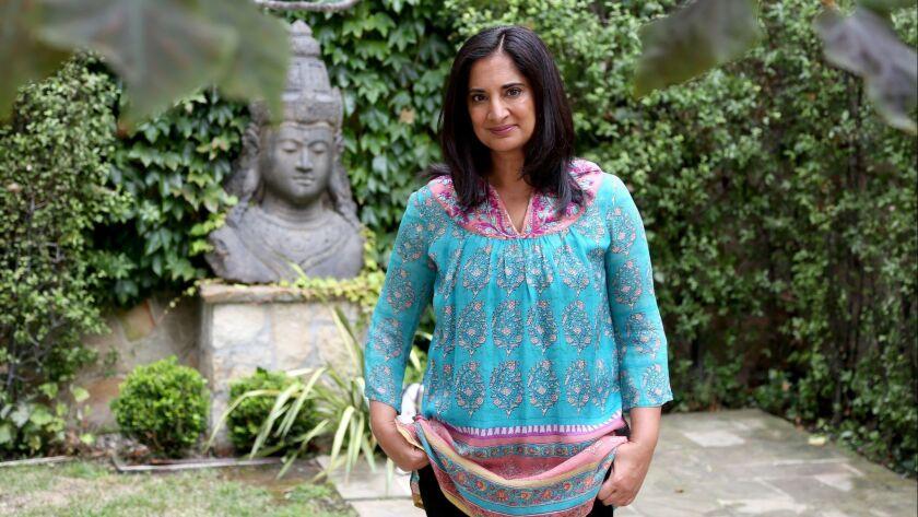 SANTA MONICA, CA. - September 5, 2018: Mallika Chopra is photographed in her home in Santa Monica. S