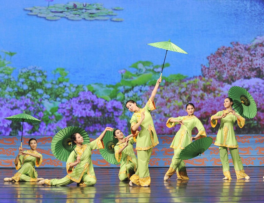 Shen Yun Performing Arts celebrates traditional Chinese music, dance and culture in the first of several stops around Southern California.