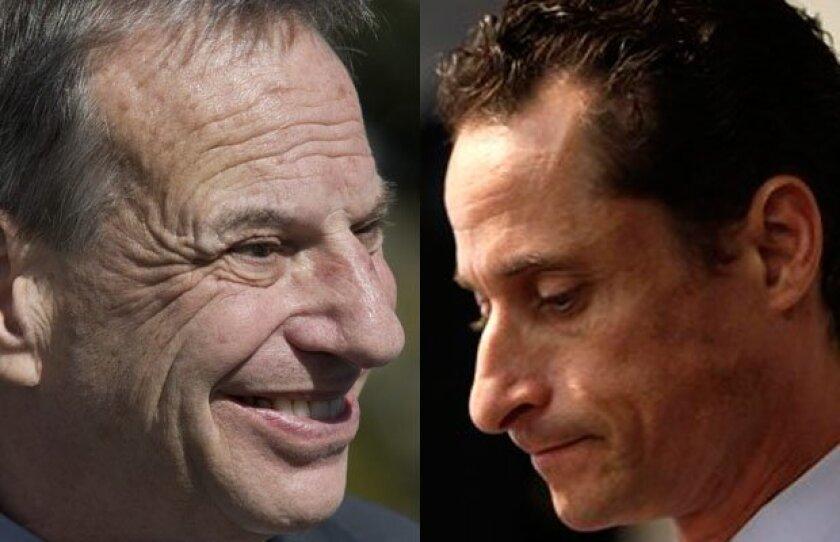 San Diego Mayor Bob Filner and New York City mayoral candidate Anthony Weiner are making scandalous headlines coast to coast.
