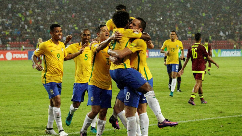 Venezuela 0-2 Brasil