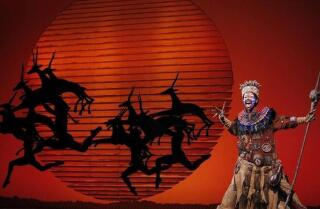 'Lion King' comes to San Diego