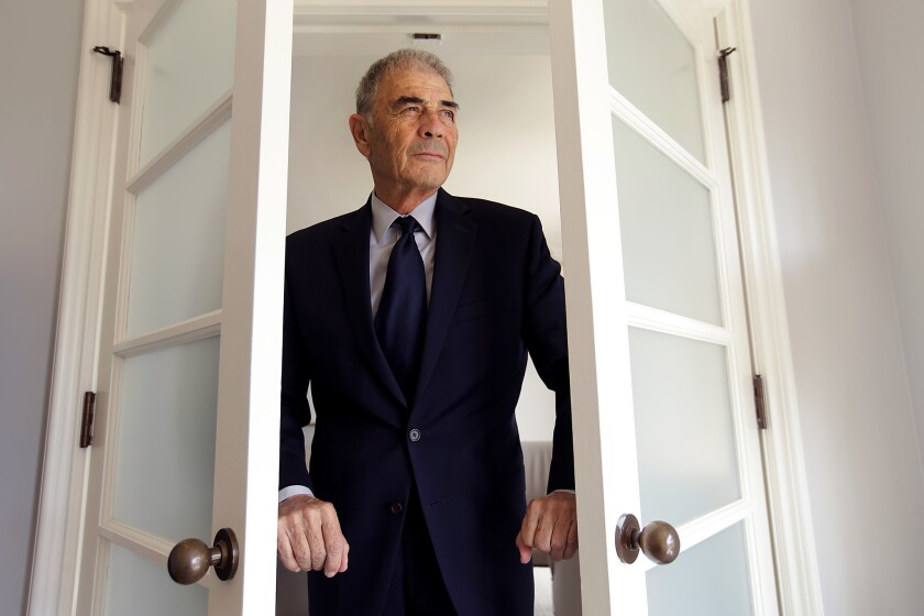 "Oscar-nominated actor Robert Forster of ""Jackie Brown"" fame plays the husband of a woman (Blythe Danner) who is suffering from Alzheimer's in the new film ""What They Had."""