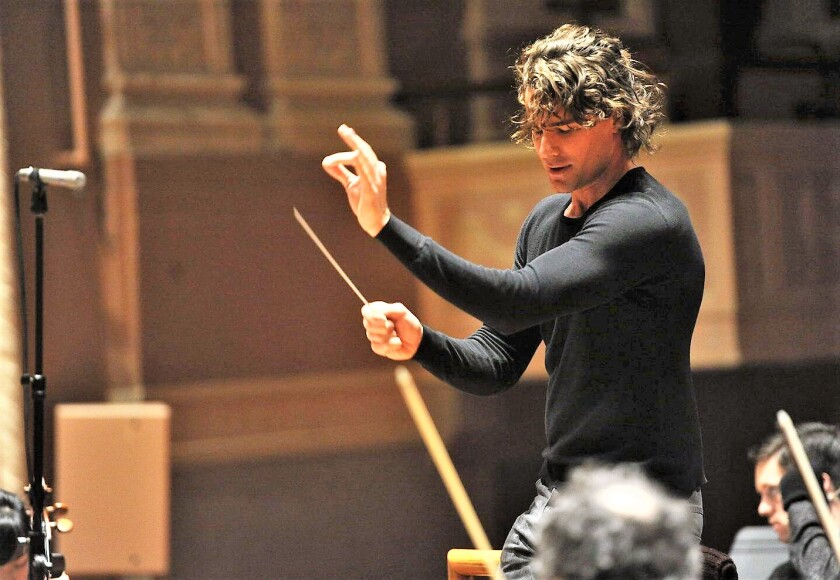 Conductor/composer Steven Hackman will bring his mixture of contemporary and classic music to the San Diego Symphony Feb. 15 with a program that merges the melodies of Beethoven and Coldplay.