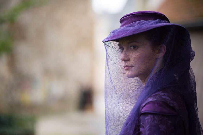 "Mia Wasikowska as Emma Bovary in Alchemy's ""Madame Bovary."""