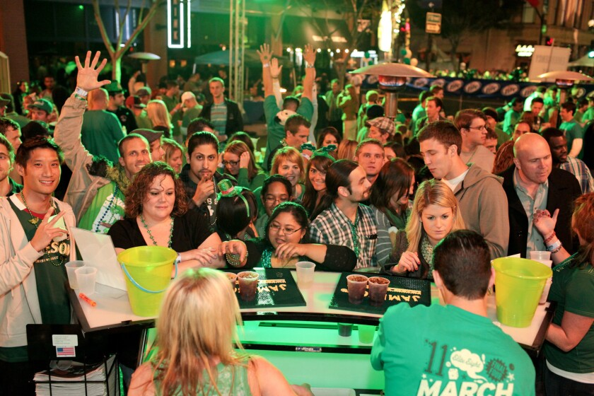 ShamROCK brings thousands of people together in Gaslamp to celebrate the luck of the Irish.
