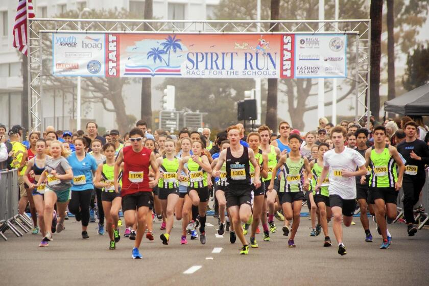 Around Town: Spirit Run to take over Fashion Island for schools benefit