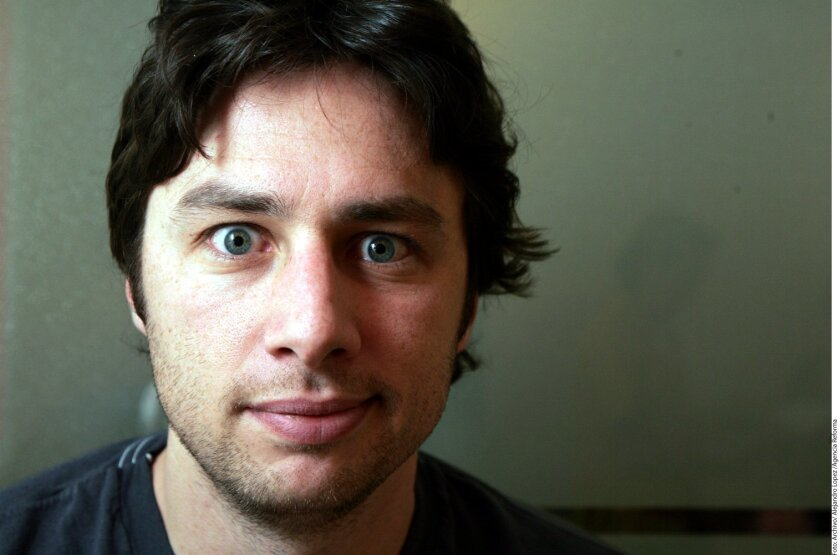 Zach Braff. Actor, productor.