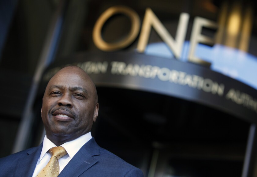 The Metro board of directors announced the hire of new CEO Phil Washington, the general manager of Denver's transportation agency. He replaces Art Leahy, who has been the chief executive for six years.