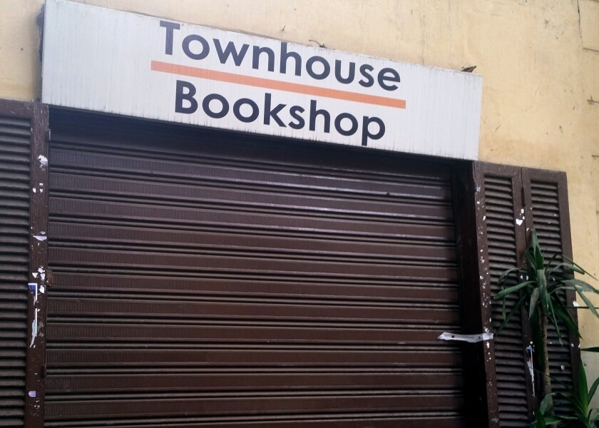 The Townhouse Bookshop in downtown Cairo