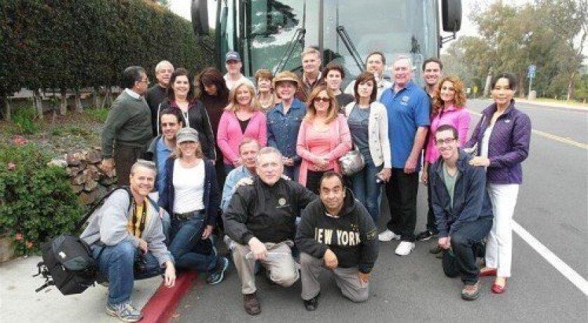 Rancho Santa Fe Rotary Club members