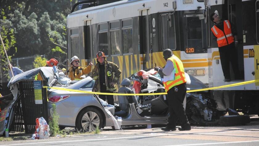 Expo Line train crash