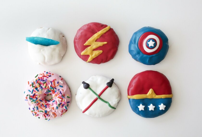 The Cravory has unveiled six Comic-Con-inspired gourmet cookies.