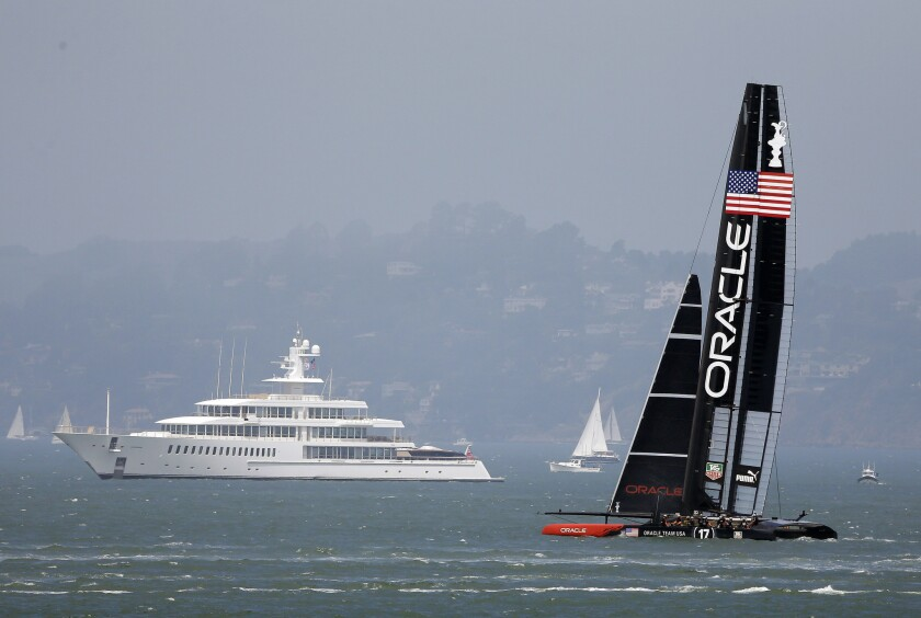 Oracle and Larry Ellison
