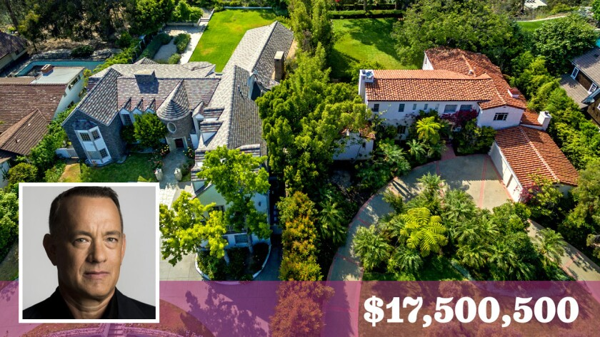 Tom Hanks Makes A Big Splash On The Westside With Pair Of Home Sales Los Angeles Times