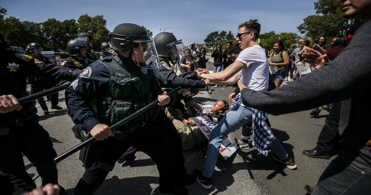Latino activists vow more Trump protests as tensions heighten - Los