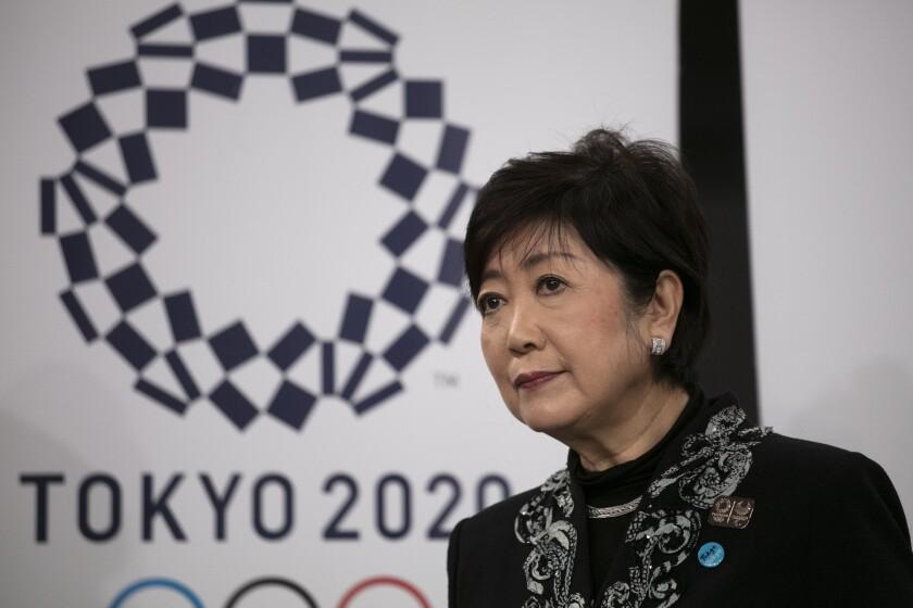 Tokyo Gov. Yuriko Koike