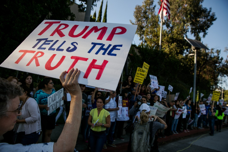 Trump in L.A.