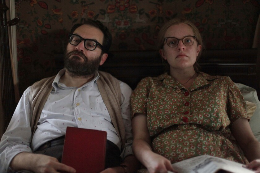 "Michael Stuhlbarg and Elisabeth Moss in ""Shirley"""