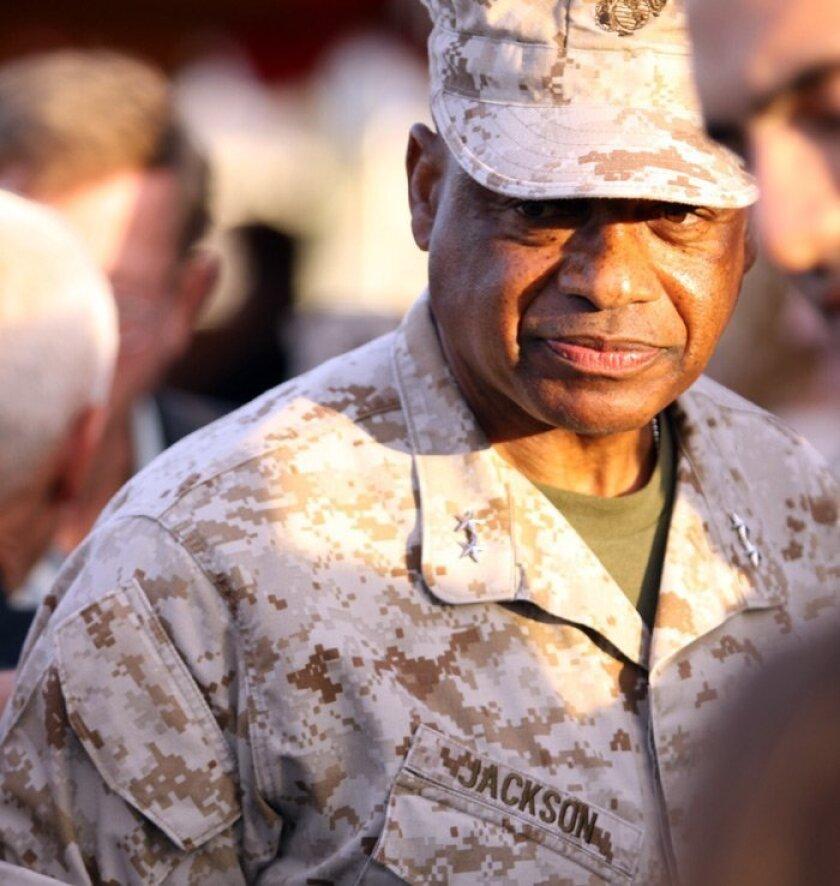 Maj. Gen. Anthony Jackson, commander of Marine Corps Installations West.