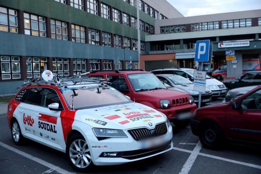 Muere Bjorg Lambrechet tras una fuerte caída en la Vuelta a Polonia