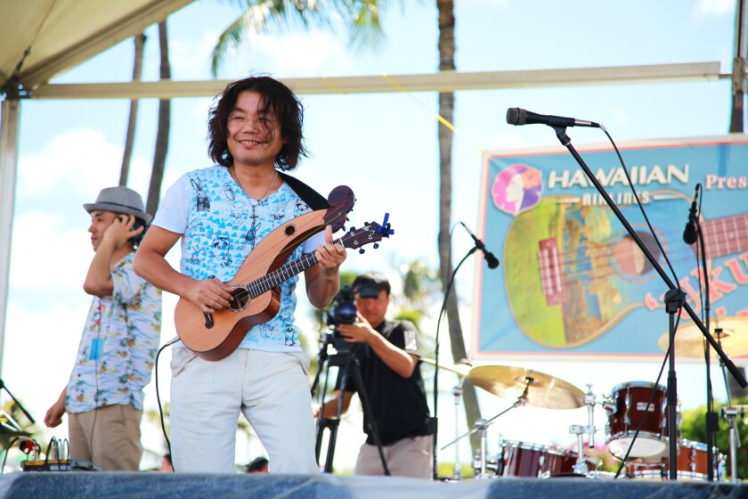 Musicians from Hawaii, Japan and elsewhere are to play for audiences at the Ukulele Picnic festival Friday through Sunday in Honolulu.