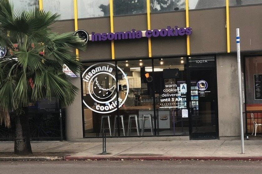 Insomnia Cookies, Pacific Beach