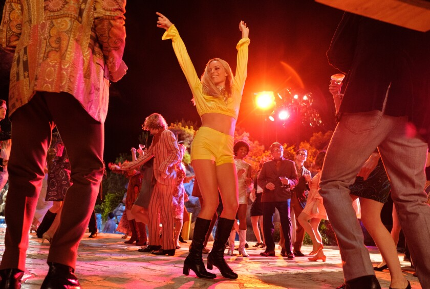 "Margot Robbie as Sharon Tate in ""Once Upon a Time ... in Hollywood."""