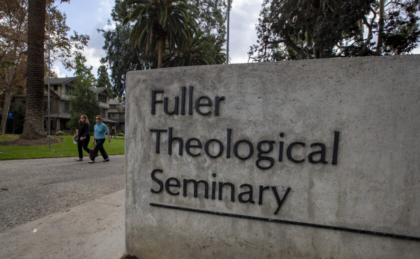 Fuller Theological Seminary in Pasadena