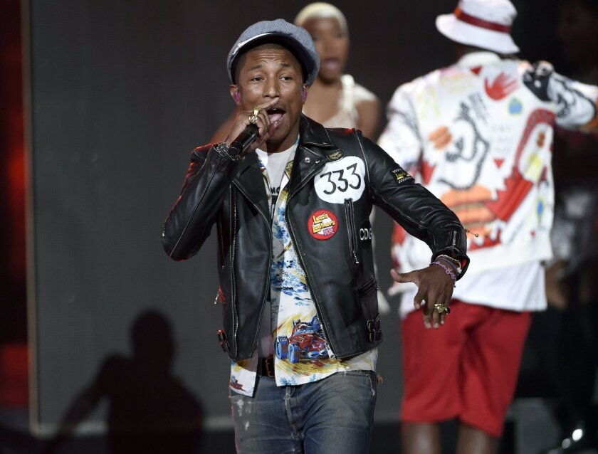 """Pharrell Williams debuted the new track """"Freedom"""" on Apple Music."""