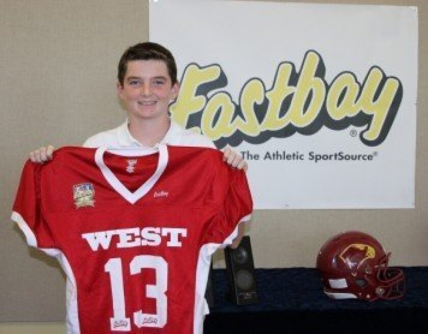 Ryan Sanborn — 2014 Eastbay Youth All-American.