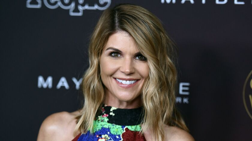 Aactress Lori Loughlin and her husband, Mossimo Giannulli, are accused in the college admissions scandal of passing off their two daughters as athletes in applying to USC.