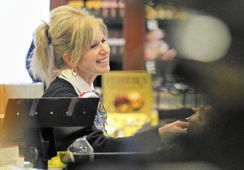 Reader Report: Checker made grocery shopping special