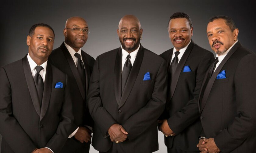 """A Night for Sight"" will feature The Temptations Nov. 10, at the SD Marriott Del Mar."
