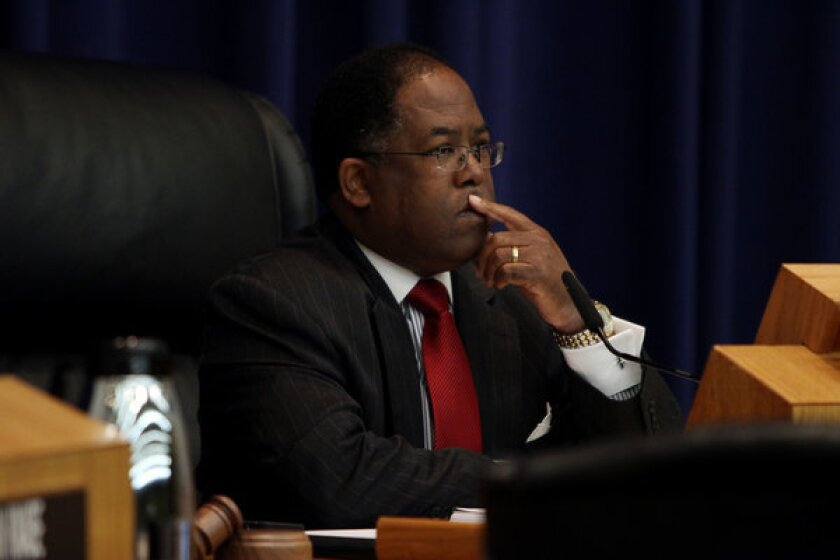 Los Angeles County Supervisor Mark Ridley-Thomas is running to serve a third term on the Los Angeles City Council.
